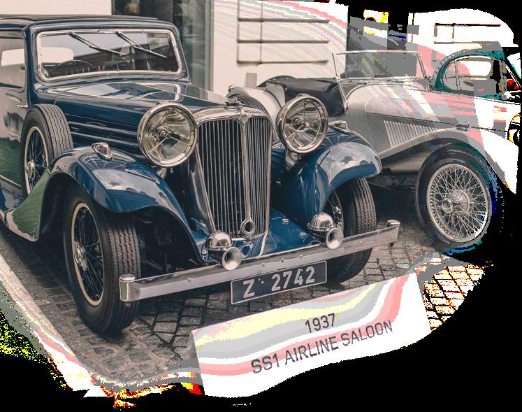 clasic car image histoy